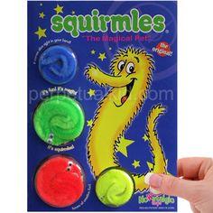Magic Worm Wiggly Twisty Worms Wurli Squirmles Kids Cat Fuzzy Toy Soft Bos DRF