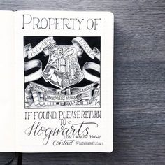 Raise your hand if you are obsessed with both Harry Potter and Bullet Journals? Read this for the best Harry Potter Bullet Journal Layout and Spread ideas! Bullet Journal Period Tracker, Bullet Journal First Page, Bullet Journal Diy, Bullet Journal Layout, Bullet Journal Ideas Pages, Journal Pages, Bullet Journals, Art Journals, Harry Potter Planner