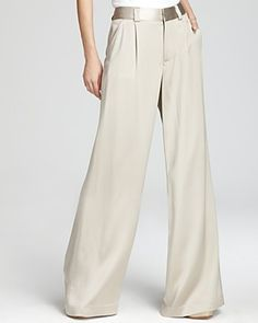 Alice + Olivia Pants - High Waist Eric | Bloomingdale's ---not this color but in dark colors.