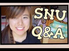 Q&A | Seoul National University