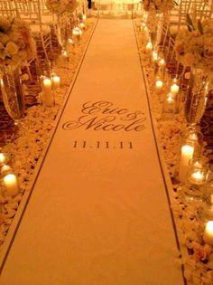wedding aisle ideas | Aisle Decorations for Weddings | first wedding