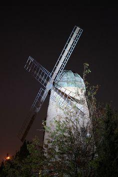 Jerusalem - Montefiore Windmill