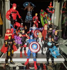 Avengers: Marvel Now - Prodigeek's Action Figure Collection