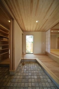 43 Pretty Home Interior Ideas You Should Keep - Stylish Home Decorating Designs - Stylish Home Decorating Designs Japanese Home Design, Japanese Interior, Japanese House, Residential Architecture, Interior Architecture, Interior And Exterior, Style At Home, House Entrance, House In The Woods
