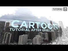 Cartoon, efecto dibujo en imagen