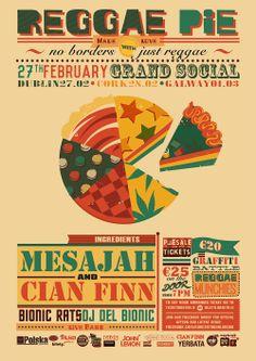 Reggae Pie Dublin, Cork & Galway this February / March