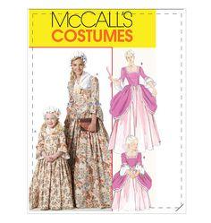 Misses'/Children's/Girls' American Colonial Costumes Abigail Adams costume