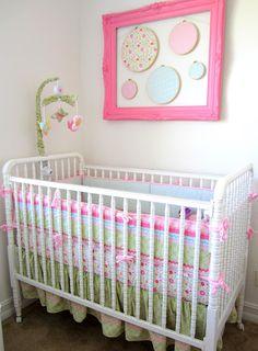 Bedding --- Jill McDonald Lullaby breeze set. Love love love her bedding!