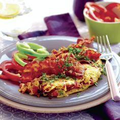 Brunch – bästa recepten Tandoori Chicken, Bacon, Brunch, Vegetarian, Ethnic Recipes, Food, Omelette, Meals, Yemek