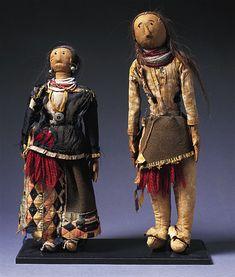 Native American dolls.