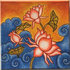 70 Ideas For Wall Illustration Kids Graphics Madhubani Art, Madhubani Painting, Kalamkari Painting, Pichwai Paintings, Indian Art Paintings, Indian Traditional Paintings, Kerala Mural Painting, Indian Folk Art, Krishna Painting