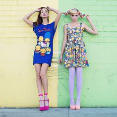 JapanLA Merges The Simpsons + Hello Kitty : Worlds collide for two iconic anniversaries in this new collection by the kawaii retailer