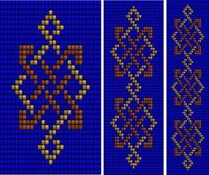 Celtic Knot Ribbon 5 (loom), Sova Enterprises