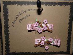 pretty cherry blossom barrettes Hair Barrettes, Kid Styles, Cherry Blossom, Hair Accessories, Pretty, Kids, Crafts, Children, Boys
