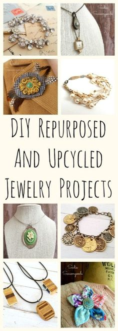 Love to repurpose vintage and random items into DIY jewelry? Well, I