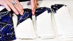 She Sews Triangles To Long Strips And Stacks Them. What She Makes Is So Extraordinary!   DIY Joy Projects and Crafts Ideas