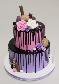 Drip Cake  Violeta Glace