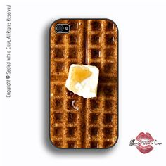 Hey, I found this really awesome Etsy listing at https://www.etsy.com/listing/129580217/waffle-iphone-4-case-iphone-4s-case-and