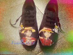#vanillasosrt #onepiece #handpaintedshoes