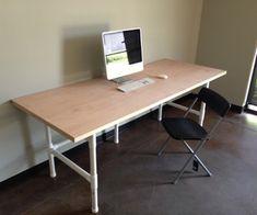 The $74 PVC Mega Awesome Super PVC Table by trevormates