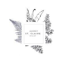 Botanical Logo Photography Logo Soap Logo Stylist by JEHLICKOVA