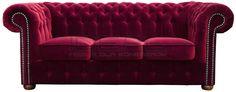 Przepiękna intensywnie czerwona sofa Chesterfield z głębokimi pikowaniami. Klasyczna forma która od wielu lat cieszy się nie słabnącym zainteresowaniem.  Idealna do salonu, perfekcyjna do gabinetu.  Czerwona sofa chesterfield, red chesterfield sofas  sofa_chesterfield_classic_IMG_3249d.jpg (1200×472)