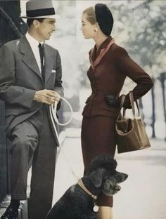 Love meh some 1940's fashion and class.