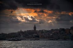 Galata Tower by Serhatbozkurt via http://ift.tt/2pj1Lgs