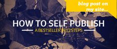How to Self-Publish a Bestseller: Publishing - James Altucher Writing Quotes, Writing A Book, Writing Tips, A Writer's Life, Live Life, Entrepreneurial Skills, Writing Characters, Self Publishing, Books Online