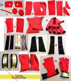 Sword Art Online Silica Gloves Progress by LiJianliang on DeviantArt