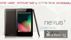 Another GADGET GIVEAWAY (worldwide)! Join and get a chance to win a Google Nexus 7
