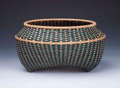 Beautiful woven basket by Tressa Sularz