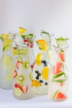 8 Delicious Fruit Infused Water Combos To Try!