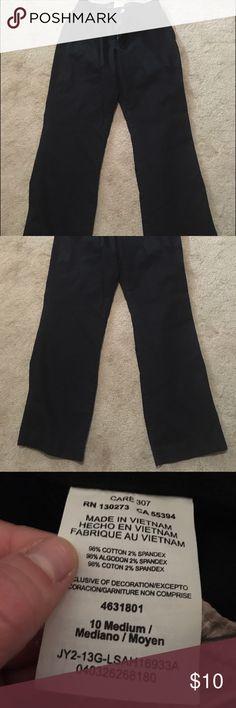 Black Lee pants Black pair of lee sinfully soft pants Lee Pants Straight Leg