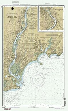 1993 Nautical Chart | Historical North Shore Of Long Island Sound - Housatonic River And Milford Harbor | CT Vintage Map Fine Art Reproduction Print #Nautical #Chart #Historical #North #Shore #Long #Island #Sound #Housatonic #River #Milford #Harbor #Vintage #Fine #Reproduction #Print