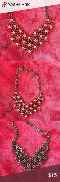 Floral necklace Floral necklace from Francesca's collections Francesca's Collections Jewelry Necklaces