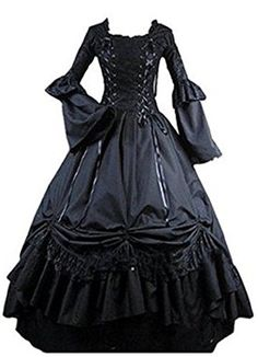 Fantasy_Outlet Black Square Collar Gothic Victorian Prom ... https://www.amazon.com/dp/B00ZP8K8CC/ref=cm_sw_r_pi_dp_x_bkBbybPEE94B0