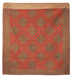 Early Irish Chain Varient Pieced Quilt : Lot 158