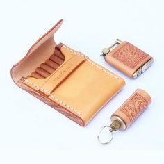 Overview: Design: Handmade Wooden Beige Leather Mens Cigarette Case Cool Custom Cigarette Holder for MenIn Stock: Ready to Ship days)Include: Only CaseCustom: NoColor: Beige, Leather: Full-Grain Leather, woodMeasures: x x / x x / x x x x Leather Tooling, Leather Purses, Vintage Cigarette Case, Cigarette Holder, Gucci, Best Fragrances, Mens Flip Flops, Long Wallet, Other Accessories