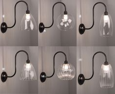 Our new range of rated Swan Neck Bathroom Lights with our hand blown glass shades. Contemporary Wall Lights, Modern Wall Lights, Vintage Wall Lights, Vintage Lighting, Living Room Lighting, Bedroom Lighting, Bathroom Wall Lights, Room Lights, Hand Blown Glass