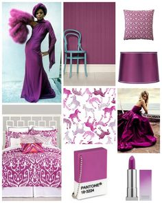 trends pattern curator magenta madness aw 2018. Black Bedroom Furniture Sets. Home Design Ideas