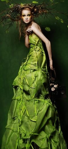 green fashion | Keep the Glamour | BeStayBeautiful