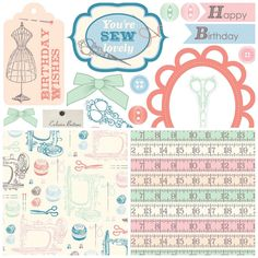 Get crafty with our vintage sewing free printable paper downloads from Papercraft Inspirations magazine!