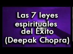 LAS 7 LEYES ESPIRITUALES DEL XITO parte 1) Audiolibro Deepak Chopra, ley de atraccion,