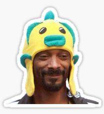 Snoop Doggy Dog Hat Sticker