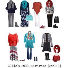 """""""Fall {Week 1}"""" by ellie1005 on Polyvore"""