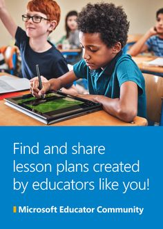 Find downloadable lessons plans created by educators like you, or share your own. Topics range from STEM, to reading and writing, fine arts, business and entrepreneurship, digital literacy and more — it's all available in the Microsoft Educator Community! Digital Literacy, Classroom Activities, Entrepreneurship, Lesson Plans, Like You, Microsoft, Community, Range, Writing