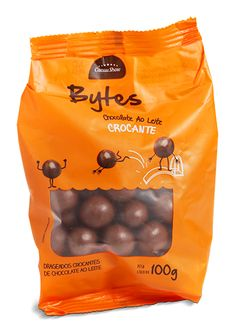 Bytes Chocolate Leite Crocante