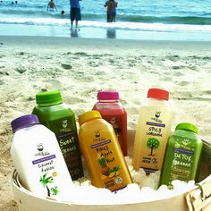 LIFE'S A BEACH !!!! with juice from the raw ;) :)