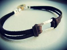 Raise the Bar Sterling bracelet by JewelryByMaeBee on Etsy, $26.00